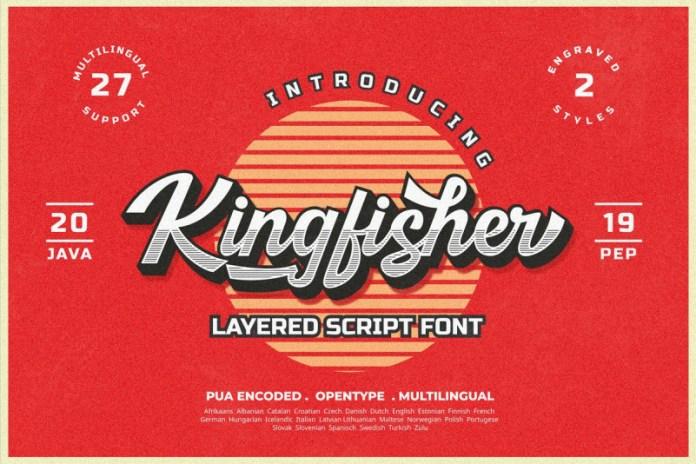 Kingfisher Script Font