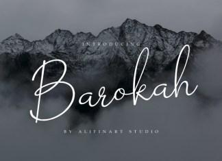 Barokah Handwritten Font