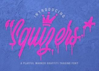 Squizers Script Font
