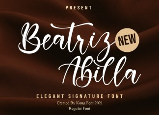 Beatriz Abilla Script typeface