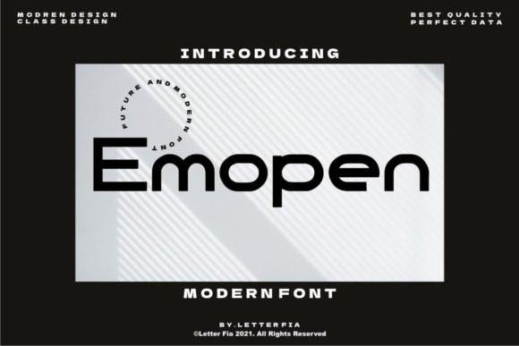 Emopen Sans Serif Font