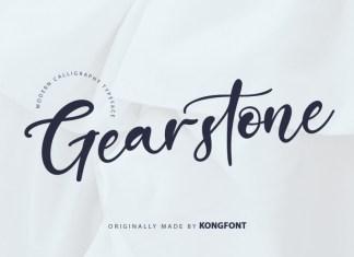 Gearstone Script Font