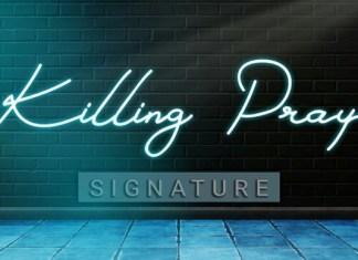 Killing Pray Handwritten Font