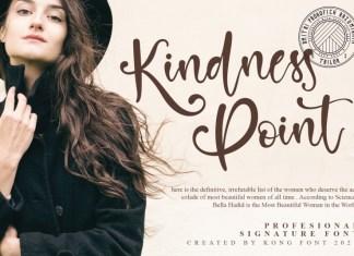Kindness Point Script Font
