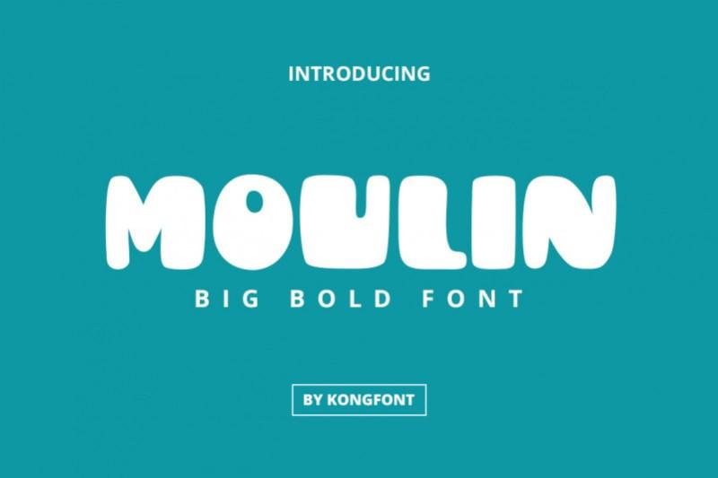 Moulin Display Font