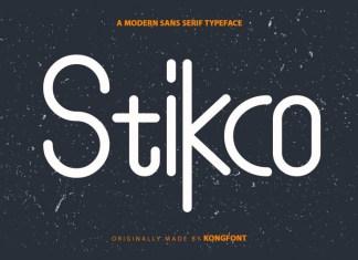 Stikco Display Font