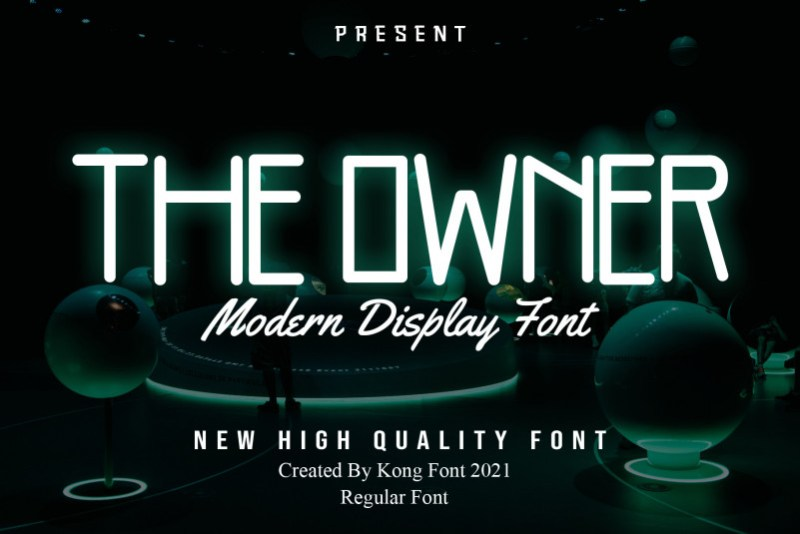 The Owner Display Font