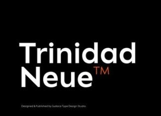Trinidad Neue Sans Serif Font