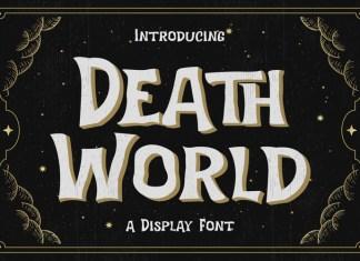 Death World Display Font
