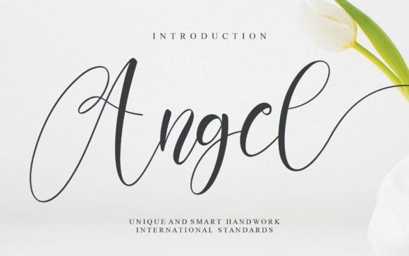 Angel Calligraphy Font