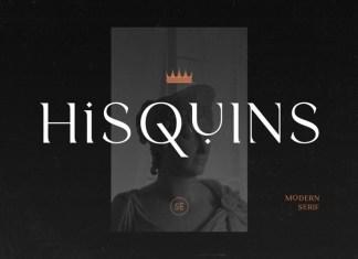 Hisquins Serif Font
