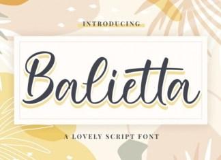 Balietta Script Font