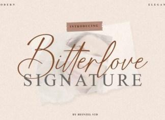 Bitterlove Script Font