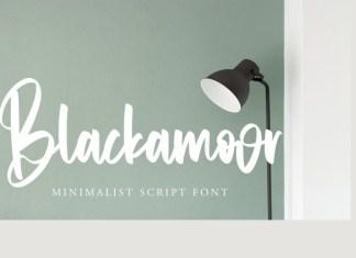 Blackamoor Script Font