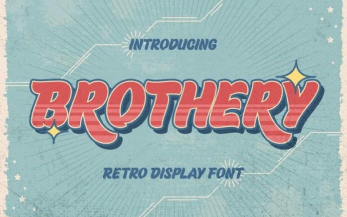Brothery Display Font