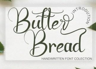 Butter Bread Script Font