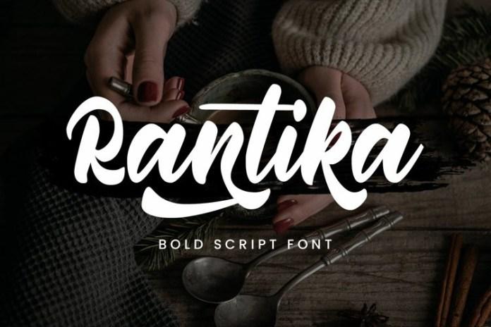 Rantika Script Font