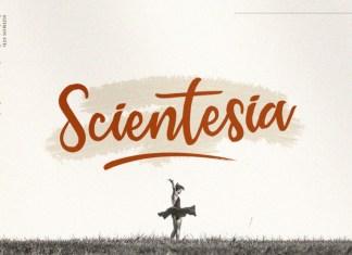 Scientesia Script Font