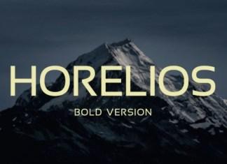 Horelios Sans Serif Font