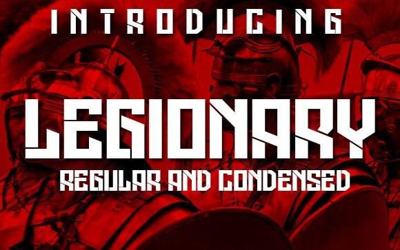 Legionary Display Font