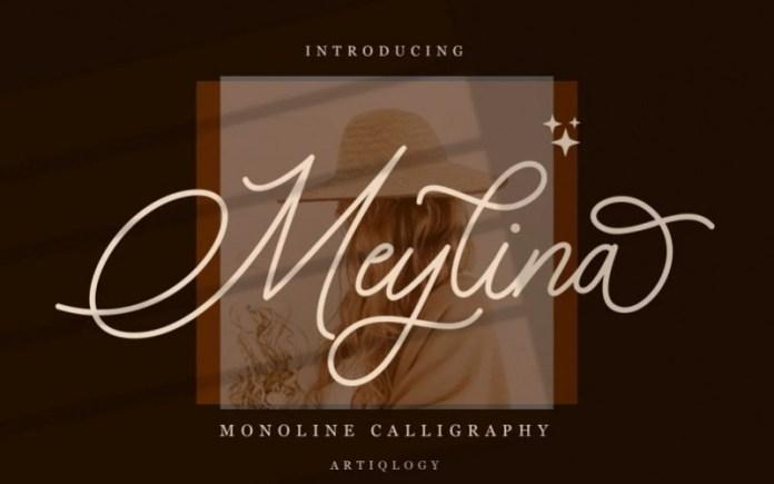 Meylina Handwritten Font