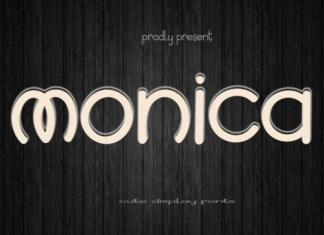 Monica Display Font