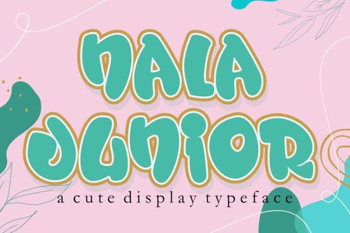 Nala Junior Display Font