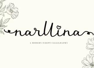 Narllina Script Font
