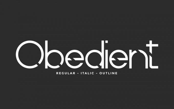 Obedient Sans Serif Font