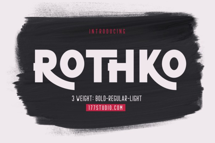 ROTHKO Sans Serif Font