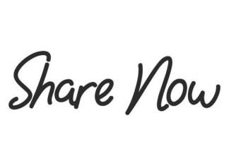 Share Now Script Font