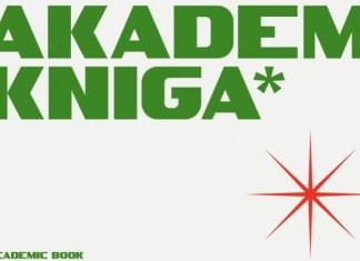 SK Akademkniga Display Font
