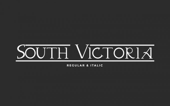 South Victoria Serif Font
