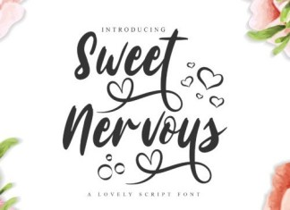 Sweet Nervous Script Font