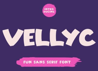 Vellyc Display Font