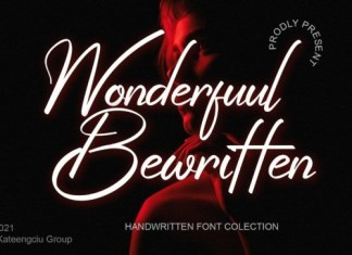 Wonderfuul Bewritten Script Font