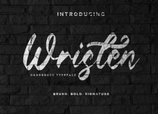 Wristen Brush Font