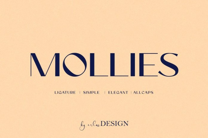 Mollies Sans Serif Font