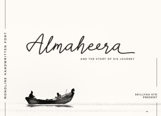 Almaheera Handwritten Font