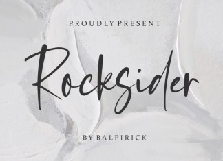 Rocksider Script Font