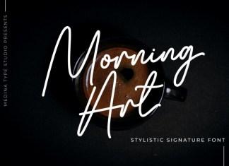 Morning Art Handwritten Font
