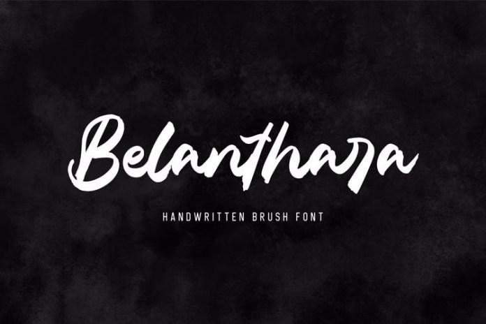 Belanthara Script Font