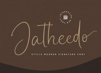 Jatheedo Handwritten Font