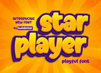 Star Player Display Font