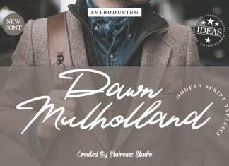 Dawn Mulholland Script Font