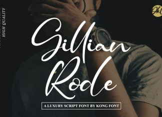 Gillian Rode Script Font