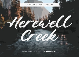 Herewell Creek Font