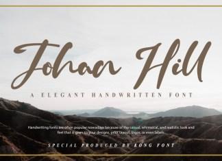 Johan Hill Script Font