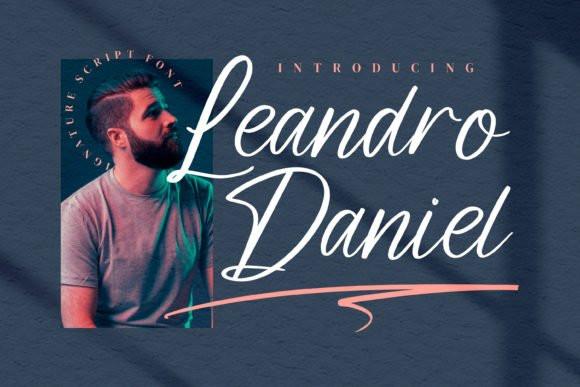 Leandro Daniel Script Font