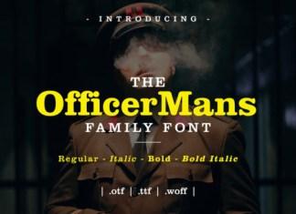 Officer Serif Font